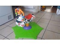 Bouncing Zebra