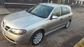 Nissan Almera 1.5 SX (2006) Low Millage. 1year MOT. Lady owner. Parking sensors, side airbags&more