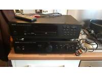 Denon amp and cd player
