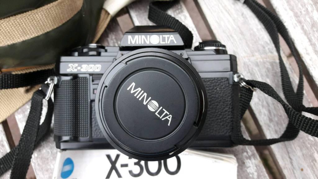 Minolta X300 Vintage Camera