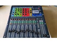 Soundcraft expression 1 16 channel digital mixing consol/desk with flight case