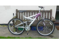 Ladies Magna Powerclimer Mountain Bike