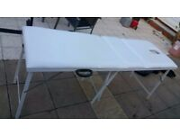 Massage Bed *Mercia Collection* Brand New Clear White, No Marks, Very Strong £50 ono