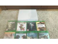 Xbox One S 500GB + 10 Games + 2 Rechargeable Controllers