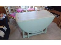 Shabby Chic Vintage table and Chairs
