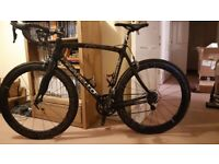 Great value Pinarello Rokh Carbon Road Bike with Aerodynamic Wheels and Power Meter