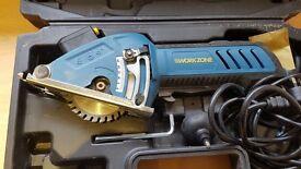 Workzone 500w mini circular Saw Model. WBT-CS007 230V
