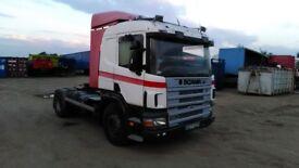 Scania 124 left hand drive LHD ,manul diesel pump