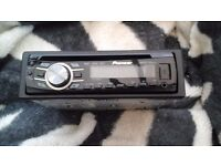 Pioneer cd player usb port aux input jack model number deh -4300ub