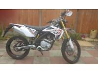 125cc motorbike rieju pro