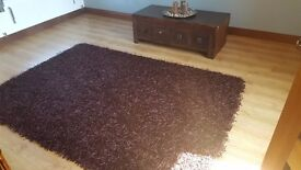 Lovely good condition brow rug