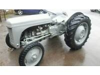 Massey ferguson t20 tractor 1950 agricultural registered on the rd