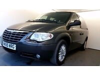 2005   Chrysler Voyager 2.8 CRD LX   3 MONTHS WARRANTY   JUST SERVICED   LEATHER   YR MOT   TINTED