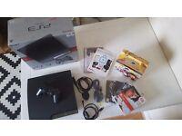 Playstation 3 bundle (PS3 250GB, games, Eye camera)