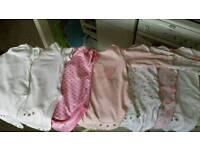 Baby girl clothes bundle 35 items