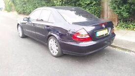mercedes e220 cdi mot black leathers automatic economical diesel 150 hp reliable car