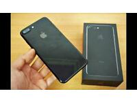 iPhone 7 Plus jet black 32gb unlocked (1 week old)