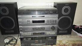 Hifi Stereogram cassette player,, Sony Japan XO-D20,, very good condition,,