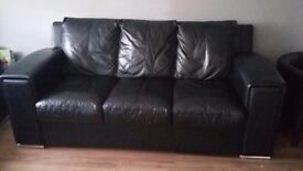 DFS sofa-bed leather