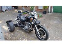 Kawasaki VN 750 hard tail Trike