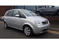 2005 Vauxhall Meriva 1.4 i 16v Breeze 5dr, £795 p/x welcome
