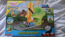 Thomas and Friends Take n Play Rattling Rails set bnib