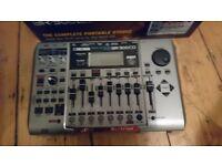 Like new Boss br900 cd digital multi track recorder