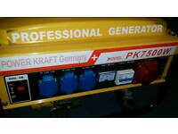 Power Kraft Generator 7000w