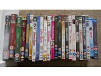 22 Assorted DVD's and 2 Blu-Rays