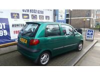 Daewoo Matiz 1.0 petrol ONLY 12000 Miles Mileage !!! Urgent £550 !!!