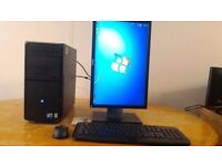 "FAST SSD - Dell Vostro 230 Computer Tower PC & 19"" Dell LCD - Last ONE Bargain - Save £20"
