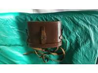 Leather binoculars case