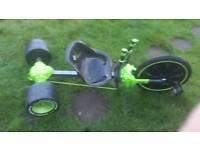 Green lantern go kart