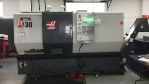 "HAAS, 2012, ST-30, 10"" Chuck, 3"" Bar Cap., CNC lathe, Low Hours !"