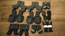 Selection of pram, pushchair maxi cosi car seat adapters