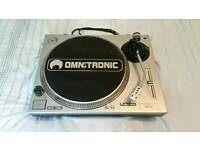 Omnitronic Turntable