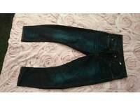 Mens G star tapered arc jeans 32 regular