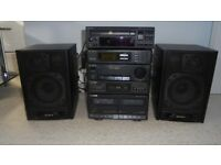 Quality SONY Stereo (includes Speakers)