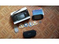 PSP Slim & Lite Piano Black with games