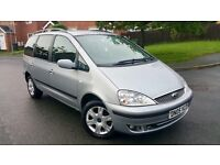 FORD GALAXY 1.9 GHIA TDI 2005 / 7 SEATER / SERVICE HISTORY/2 KEYS/ ALLOY WHEELS £2390