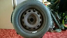 tyre and wheel