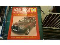 Haynes freelander service and repair manual 97-03