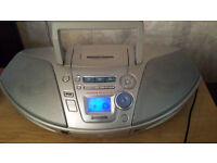 Panasonic RX-ES25 Portable CD Player Receiver Tape Deck Boombox