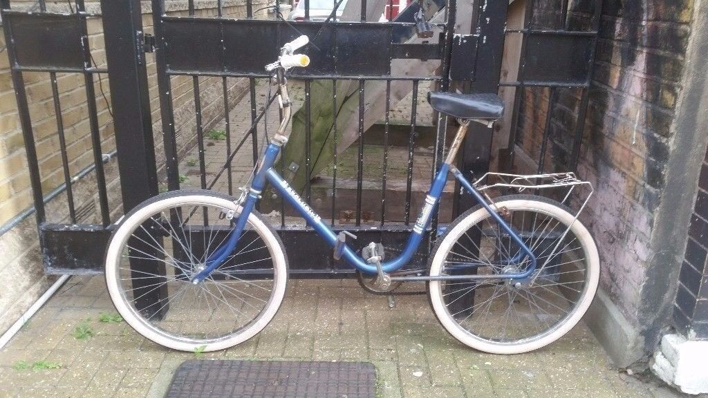 Vintage West German Folding Single Speed Bike in Perfect Condition