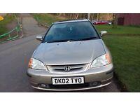 For Sale Honda Civic Coupe 1.7 VTEC
