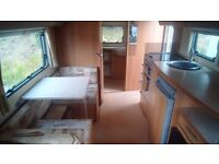 Swift charisma 560 caravan luxury model 4berth