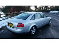 AUDI A6 1.8 TURBO PETROL FULL YEARS MOT