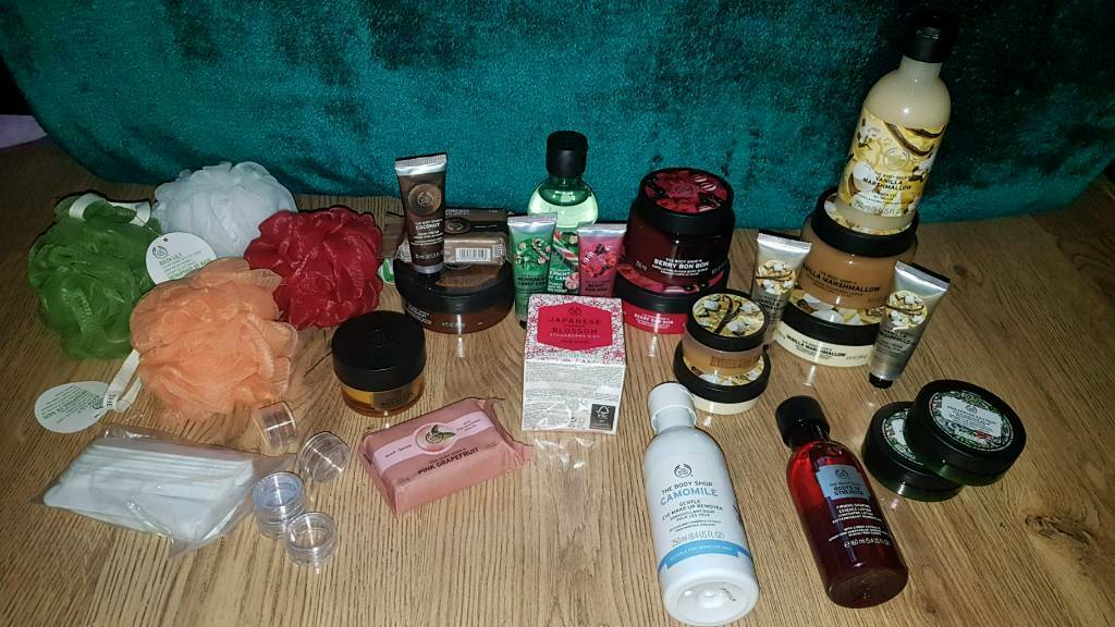 Massive job lot of body shop products ALL NEW | in Droylsden, Manchester |  Gumtree