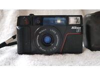 Rare Highly collectable Nikon L35 AF2 f2.8 range finder camera 35mm film Nikkor retro pre digital