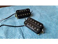Dimarzio / ibz USA pickup humbucker PAIR for Ibanez, Fender, Gibson, PRS electric guitar